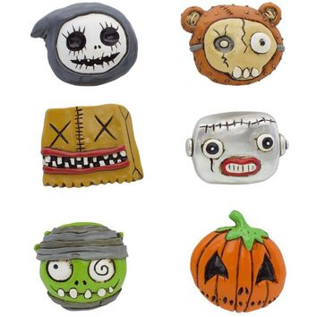 Boogily Collection- Boogily Heads Magnets - Set of 6