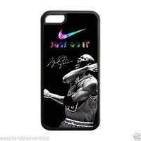 Nike JUST DO IT Air Michael Jordan cell phone case for iPhone 5 5s 5c 6 4 4s