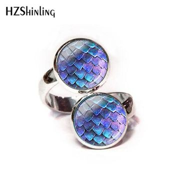 2018 New Game Of Thrones Dragon Egg Rings For Women Resizable Eggs Adjustable Ring For Women Glass Rings Jewelry