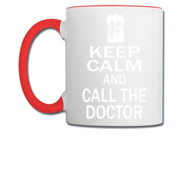 keep calm and call doctor - Coffee/Tea Mug