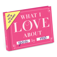 What I Love About You Journal by Knock Knock - knockknockstuff.com