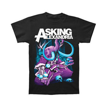 Asking Alexandria Men's  Devour T-shirt Black Rockabilia