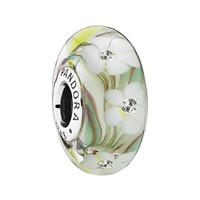 Women's PANDORA 'Wild Flowers' Murano Glass Charm