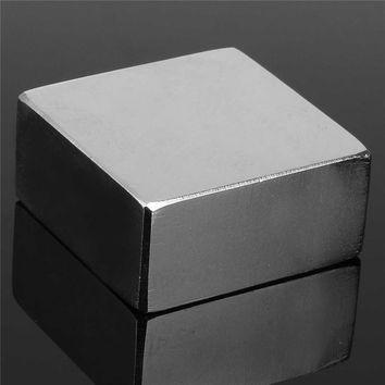 1PC 45 x 45 x 25mm N50 Block Magnet Neodymium Permenent Strong Magnet Rare Earth Square 45 x 45 x 25mm Magnets New