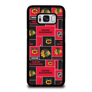 CHICAGO BLACKHAWKS HOCKEY Samsung Galaxy S8 Case Cover