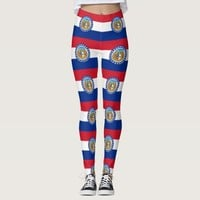 Leggings with flag of Missouri State, USA
