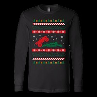 Truck ugly christmas sweater xmas