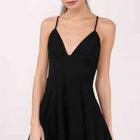 Strapped In Love Skater Dress