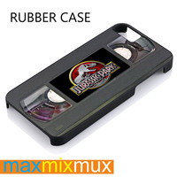 Jurassic Park Videos Casette iPhone 4/4S, 5/5S, 5C, 6/6 Plus Series Rubber Case