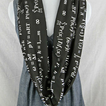 Math Equation Infinity Scarf
