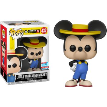 Funko POP! Disney: Little Whirlwind Mickey Mouse 90th Anniversary Collection #432 (2018 Fall Convention)