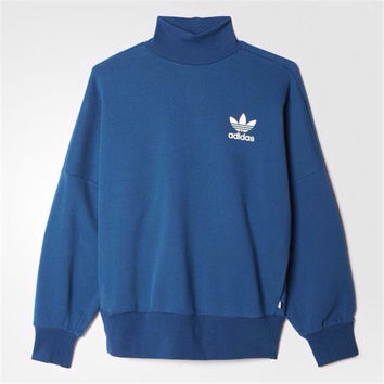 "Fashion ""Adidas"" Women Trending Blue Sweater"