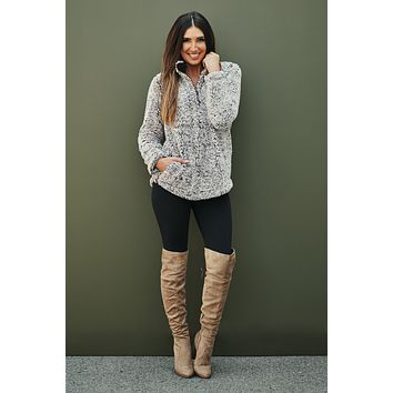 Snow War Sweater (Mocha)