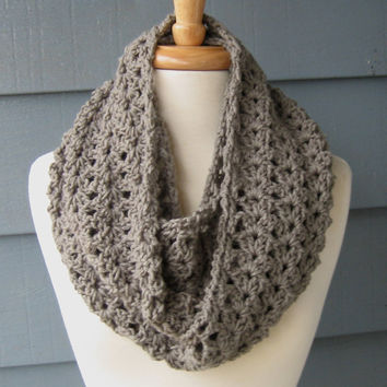 Crochet Pattern Pdf Phoebe Infinity Scarf From Artsycrochet On