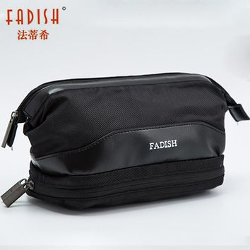 Waterproof Large Men Toiletry Bag Double Layer Travel Organizer Cosmetic Bag For Women Necessaries Make Up Case Wash Makeup Bag