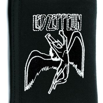 Led Zeppelin Heavy Metal Tri-fold Wallet Alternative Clothing Icarus Angel Wings
