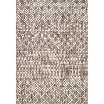 nuLoom Contemporary Trellis Milly Area Rug