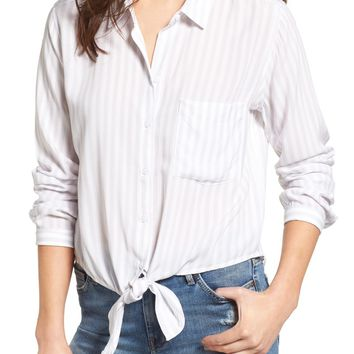 Rails Val Tie Front Blouse | Nordstrom