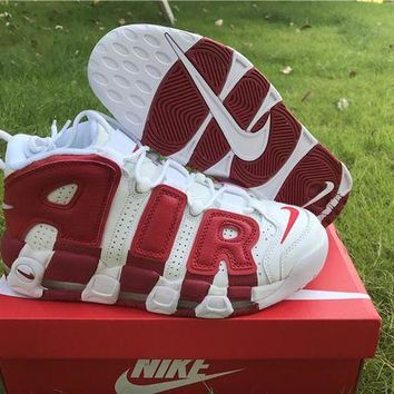DCCKL8A Nike Air More Uptempo Light Scottie Pippen Varsity Red