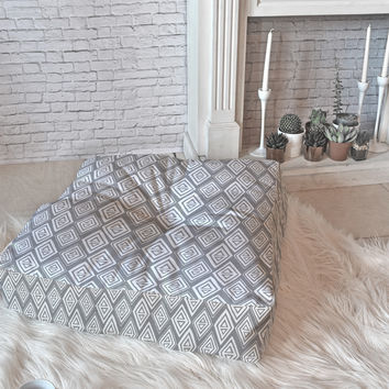 Heather Dutton Diamond In The Rough Grey Floor Pillow Square