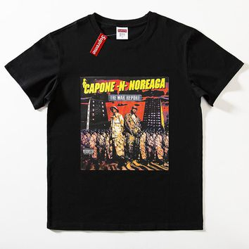 Cheap Women's and men's supreme t shirt for sale 85902898_0044