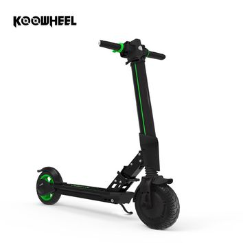 Koowheel Upgrade Foldable Electric Scooter Samsung Battery Kick Scooter Mini Inflatable Electric Skateboard for Kid Adult