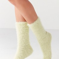 Out From Under Feathery Cozy Crew Sock | Urban Outfitters