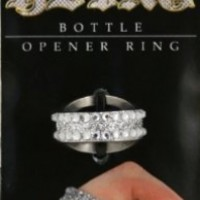 Island Dogs Bling Bottle Opener Ring