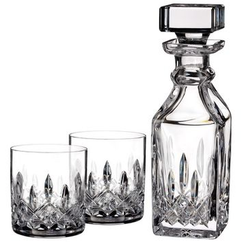 Waterford Lismore Square Lead Crystal Decanter & Tumbler Glasses | Nordstrom