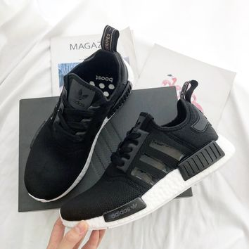 Adidas NMD_R1 Black Sports Shoes Sneakers