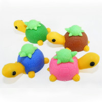 Turtle Family Eraser : eco-friendly erasers for kids : Stubby Pencil Studio