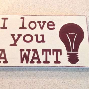 Love You a Watt, Electrician, Valentine's Day