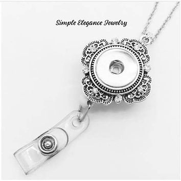 Retractable Snap Necklace Badge Holder 18mm-20mm