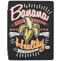 Banana Healthy Pop Art iPad Cover