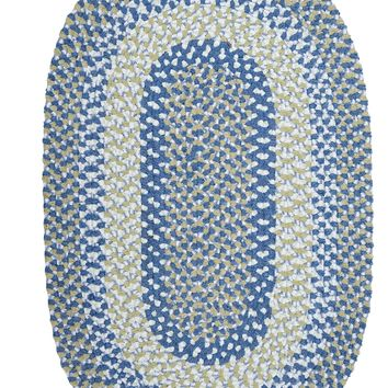 Colonial Mills Blokburst BK59 Blueberry Pie Kids/Teen Area Rug