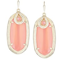 Porter Earrings in Iridescent Tangerine - Kendra Scott Jewelry