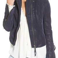 Free People   Faux Leather Jacket   Nordstrom Rack