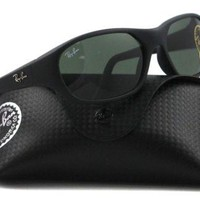 Cheap Ray-Ban Sunglasses - RB2016 Daddy-O / Frame: Matte Black Lens: Green outlet
