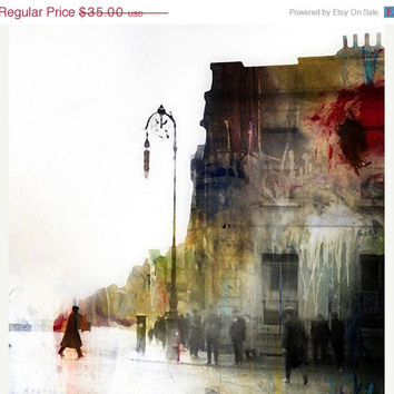 ON SALE Parisian Graffiti, Photograph, Photomontage, Collage, Illustration, Cityscape, Landscape, Home Decor, Paris