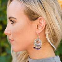 Bali Ornate Beaded Earrings