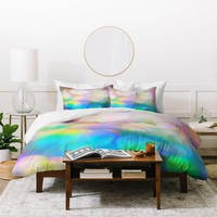 Lisa Argyropoulos Color Me Happy Duvet Cover