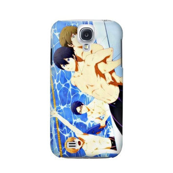 P2128 Free Iwatobi Swim Club Case For Samsung Galaxy S4
