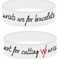 Wrists Are For Bracelets (White)