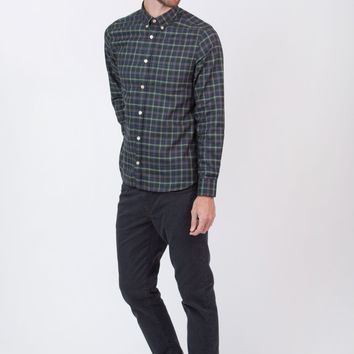 Goraz Long Sleeve Plaid Shirt
