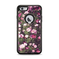 The Vintage Pink Floral Field Apple iPhone 6 Plus Otterbox Defender Case Skin Set