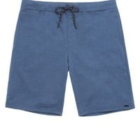 On The Byas Jackson Printed Shorts - Mens Shorts - Blue -