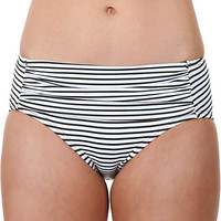 STRIPE SENSATION RETRO HI WAIST