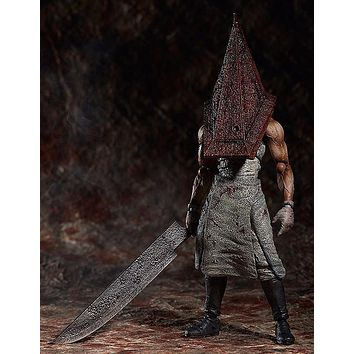 Silent Hill Action Figure Pyramid Head Figma PVC 150mm Collectible Model Toy Anime Movie Silent Hill Pyramid Head