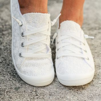 Rayfield White Sneakers