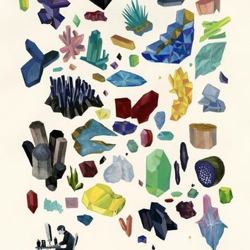 My Father Studied Geology by Jensine Eckwall